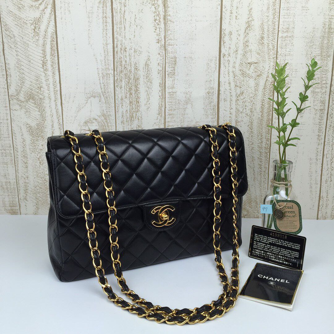 9038bdc8fcdb 🌈Classy Chanel CF Jumbo Classic Flap, Luxury, Bags & Wallets ...