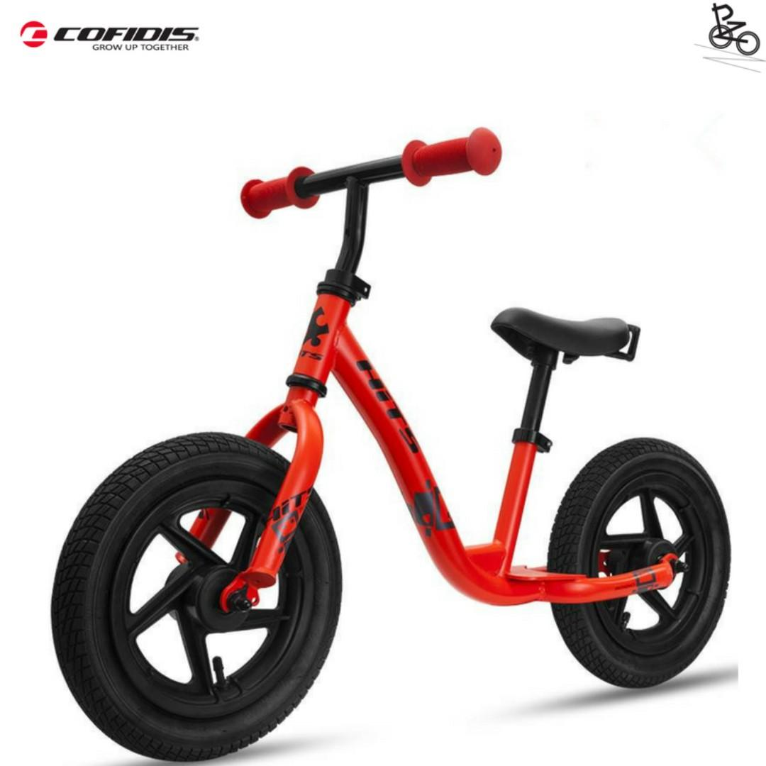 COFIDIS  HITS KIDS 12 inch Balance bike/Pushbike for kids to learn Balancing( The Best Gift for Kids)