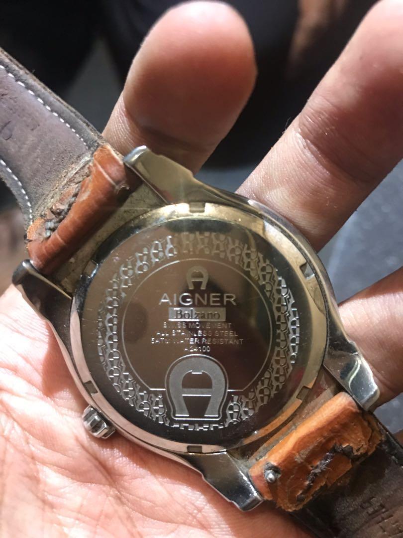Di jual jam tangan pribadi Aigner Bolzano Original. kondisi 90%