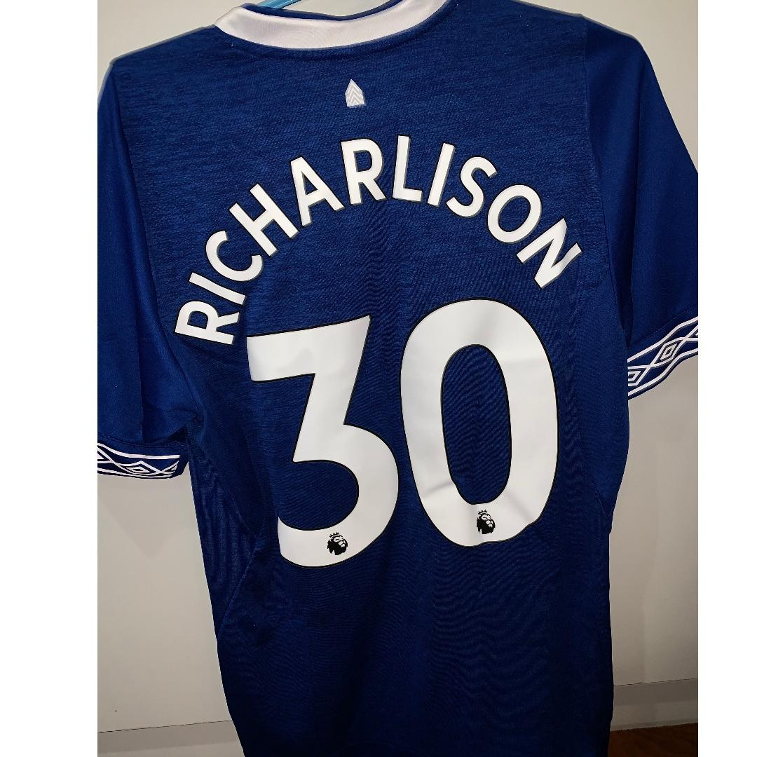 official photos 1835b 86969 Everton football jersey, Sports, Sports & Games Equipment on ...