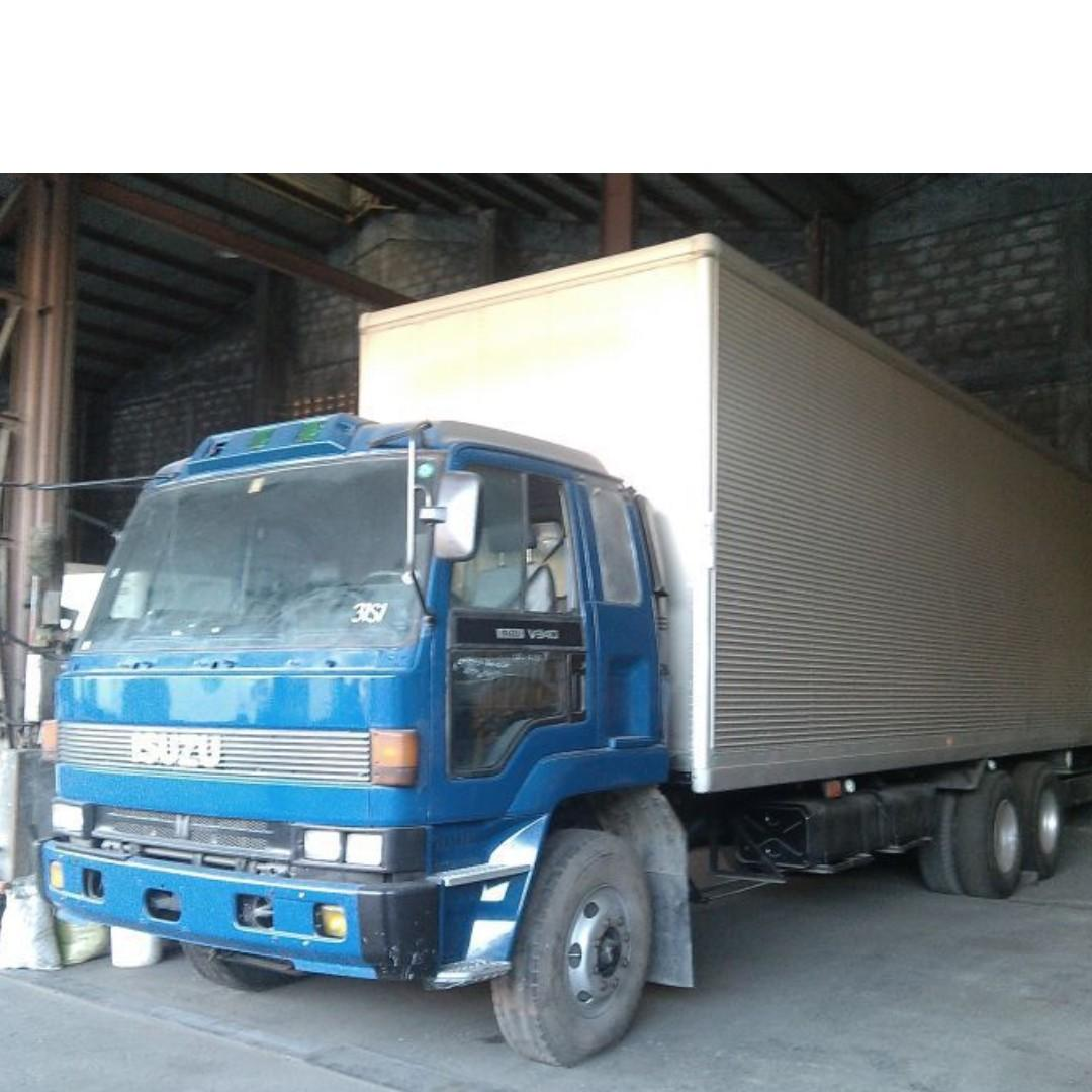 For rent Open Drop side l Wing Van l All types of Trucks Available