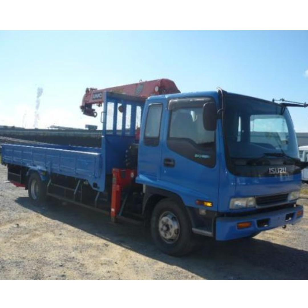For rent Open drop side Truck l All types of Trucks