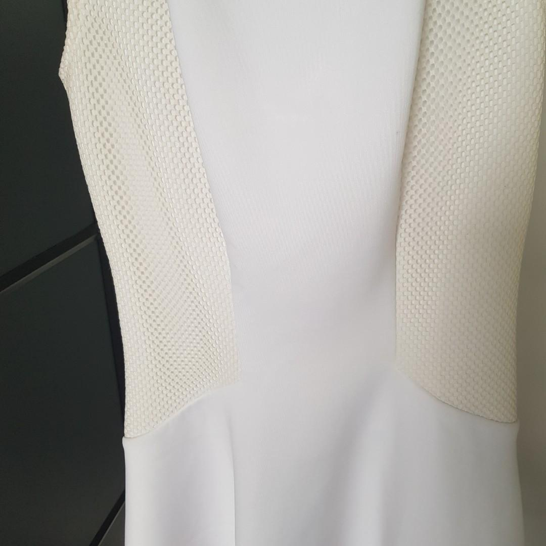 Guess white mini dress
