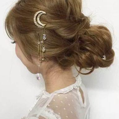 Hair clip hairclip pin hairpin band short hairband tie