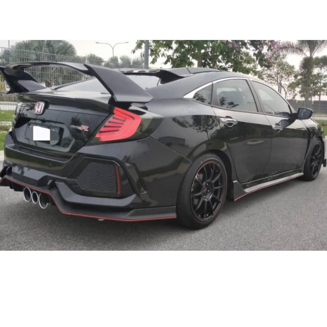 HONDA FC TCP 1.5 (A) TURBO FULL SPEC CONVERT FULLY TYPE R ORIGINAL BODY KIT
