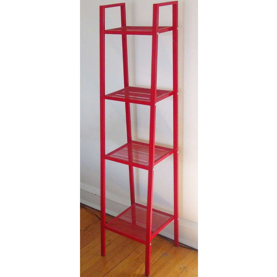 Excellent Ikea Lerberg Shelf Unit Shelving Unit Red Discontinued Color Interior Design Ideas Clesiryabchikinfo