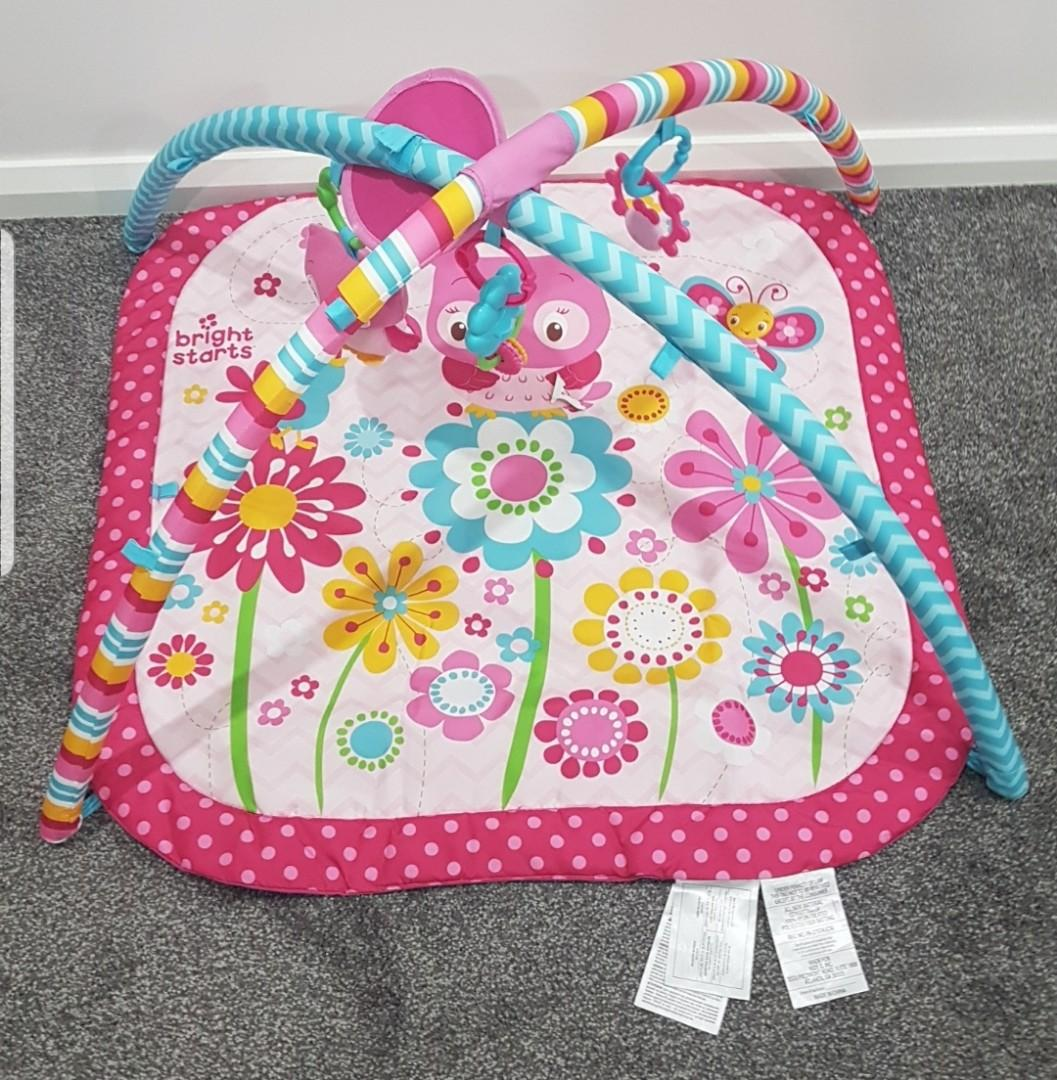 Bright Starts Infant's Activity Mat Pretty in Pink
