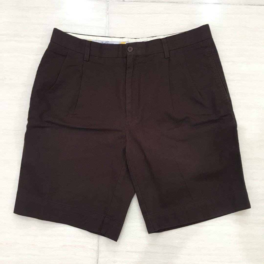 Jack Nicklaus Brown Short Pants (celana pendek pria)