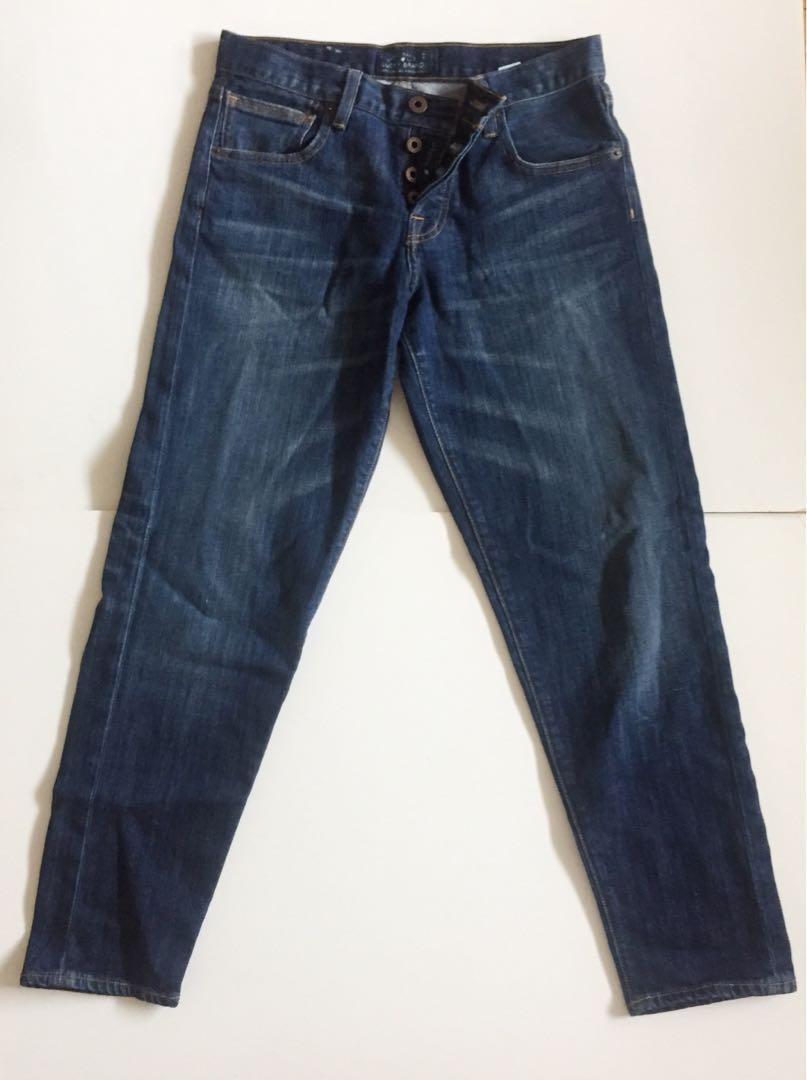 Lucky Brand Mid Rise Blue Jean
