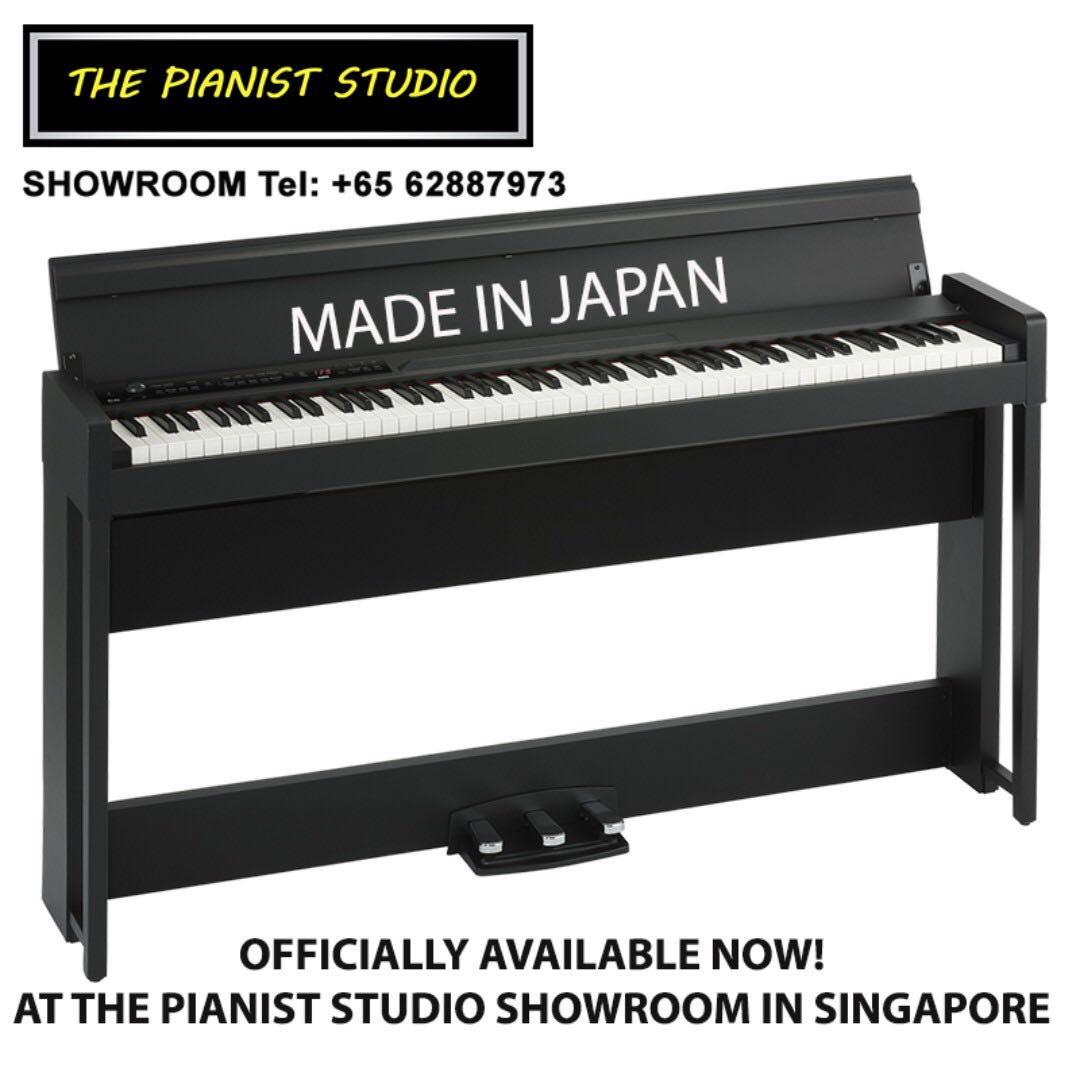 [MADE IN JAPAN] KORG Digital Piano C1 Air Singapore Sale!