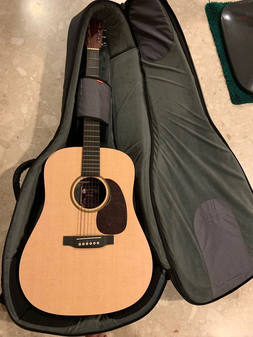 ccaeb082259 Martin Acoustic Guitar with plug-in DXMAE with Mono travel case and ...