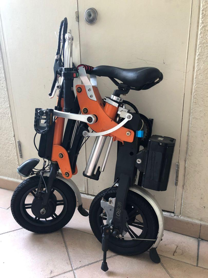 Battery Powered Bicycles >> Mobot Foldable Battery Powered Bike Bicycles Pmds