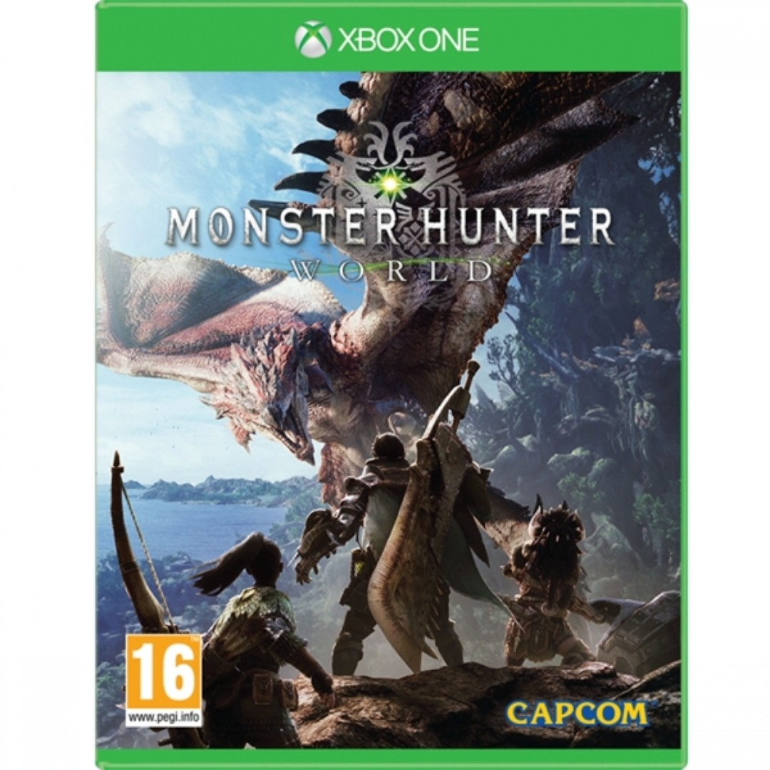 Monster Hunter World Xbox One Game, Toys & Games, Video