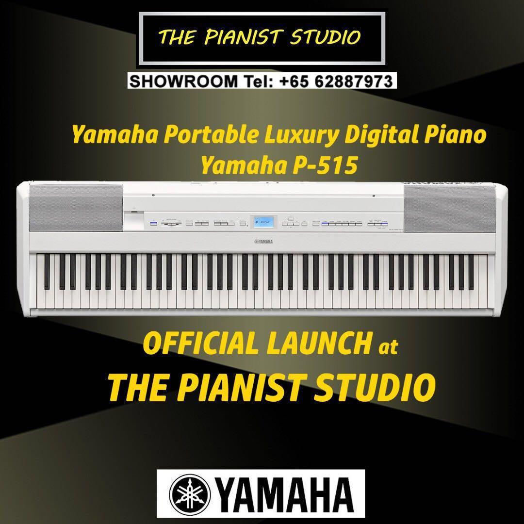 THE PIANIST STUDIO - Yamaha P-515 Digital Piano Singapore Sale P515