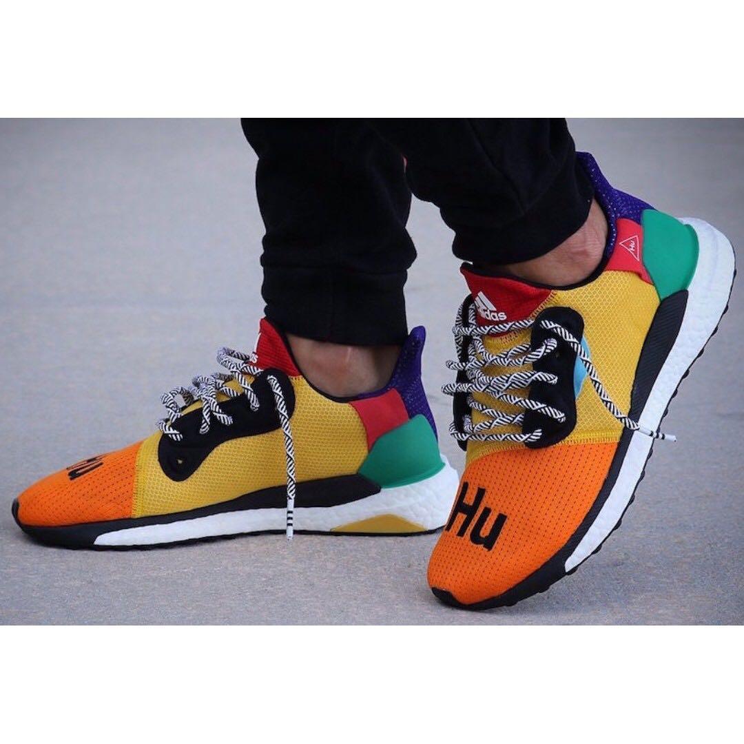 bb3a71675 Pharrell Williams x adidas Solar Hu Glide ST Shoes