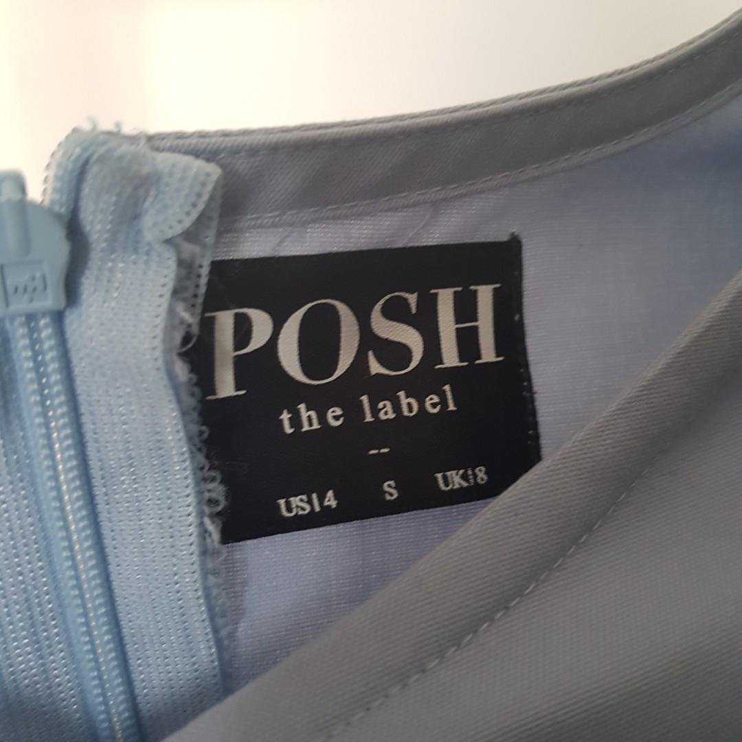 Posh the label top