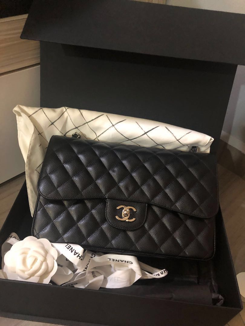 495b39abee383f Preloved Chanel Jumbo full set, Women's Fashion, Bags & Wallets ...