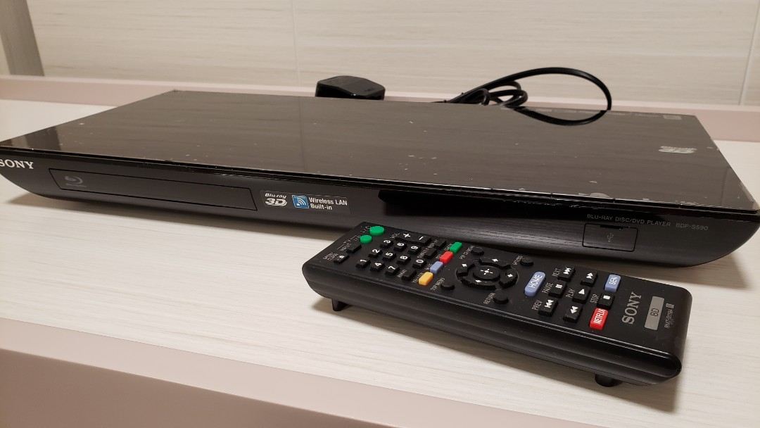 SONY BDP-S590藍光影碟播放機 SACD PLAYER, BDP-S590