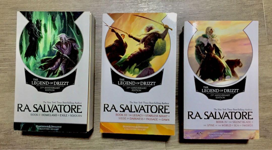 Ra Salvatore New Book