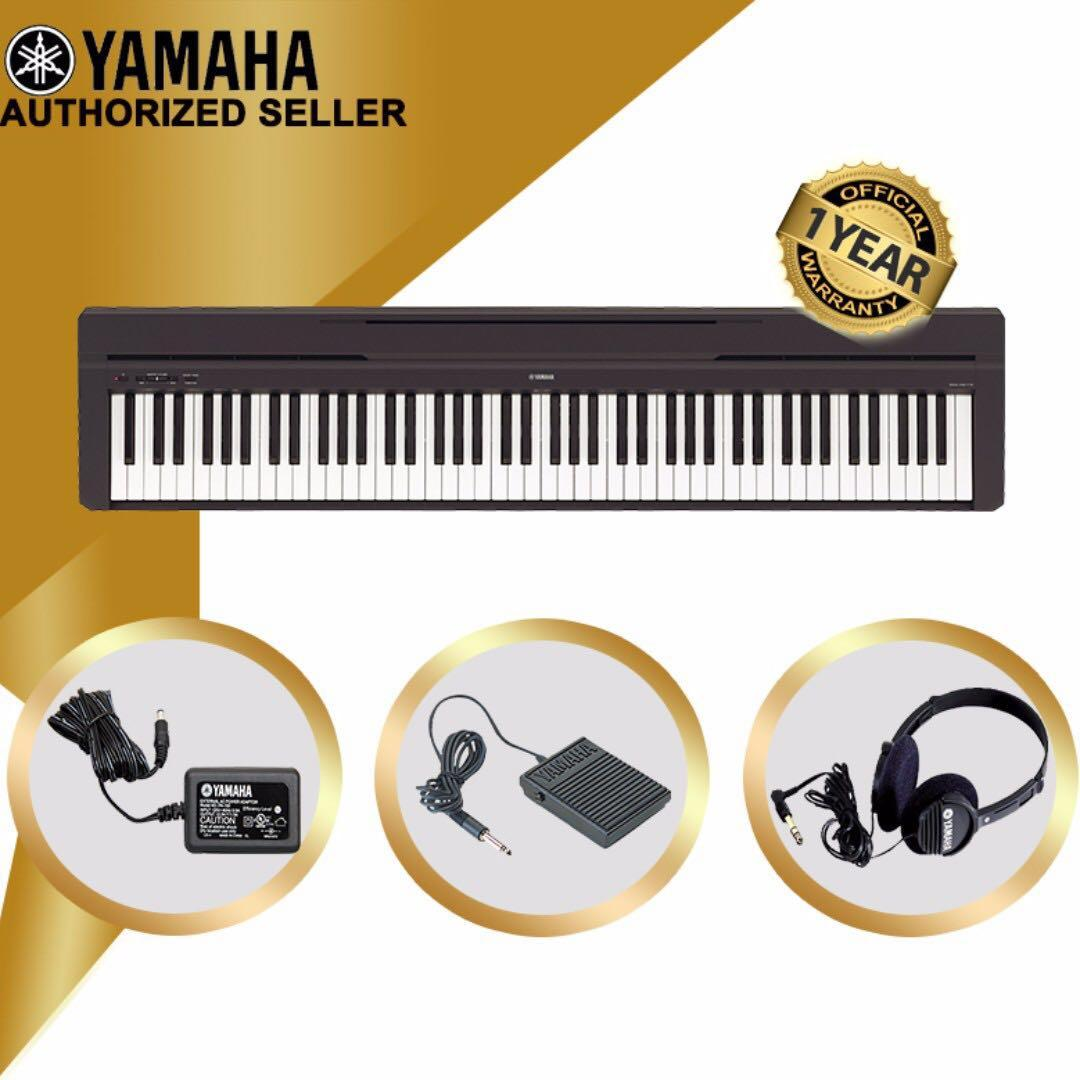 THE PIANIST STUDIO | Authorized Seller - Yamaha P-45 Digital Piano (Black) Keyboard Only