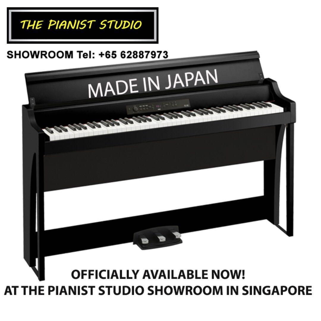 THE PIANIST STUDIO | MADE IN JAPAN KORG Digital Piano G1 Air Singapore Sale 2019