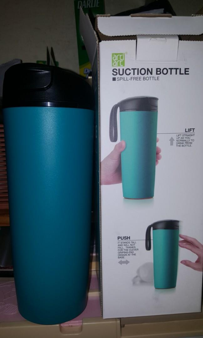 Thermal non spill flask