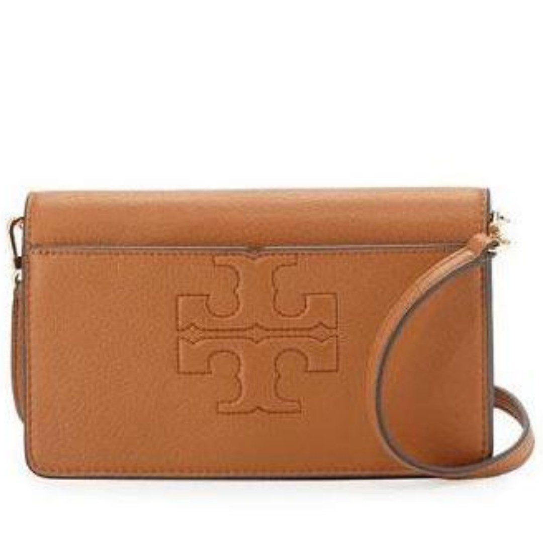 f51755556 TORY BURCH BOMBE-T SMALL CROSSBODY (BARK), Women's Fashion, Bags & Wallets,  Sling Bags on Carousell