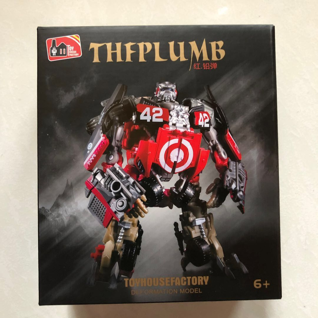 Transformers Toy House Factory THF - THF-02 The Plumb (aka Leadfoot) (MISB)