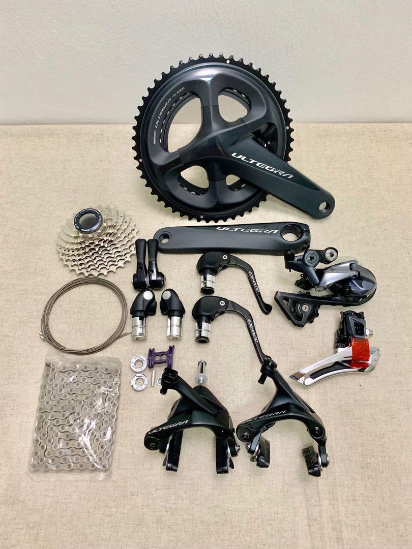 baefe1413c5 TT Groupset Shimano Ultegra R8000 Mechanical TT Triathlon Groupset,  Bicycles & PMDs, Bicycles, Road Bikes on Carousell