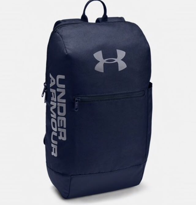 ff68c065806 Under Armour Patterson Backpack (Blue) (Brand New), Luxury, Bags & Wallets,  Backpacks on Carousell