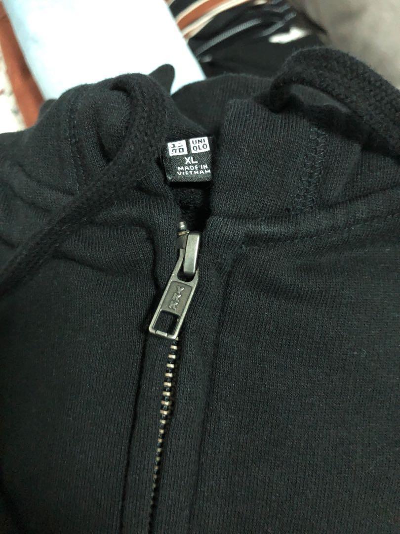 Uniqlo zip-up jacket