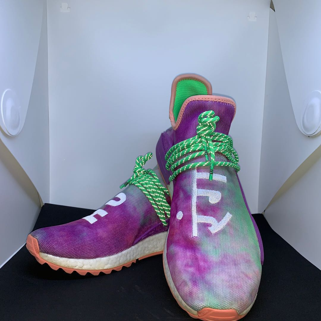 1efcada08 US 12 Adidas X Pharrell William Holi Pack - Chalk Coral