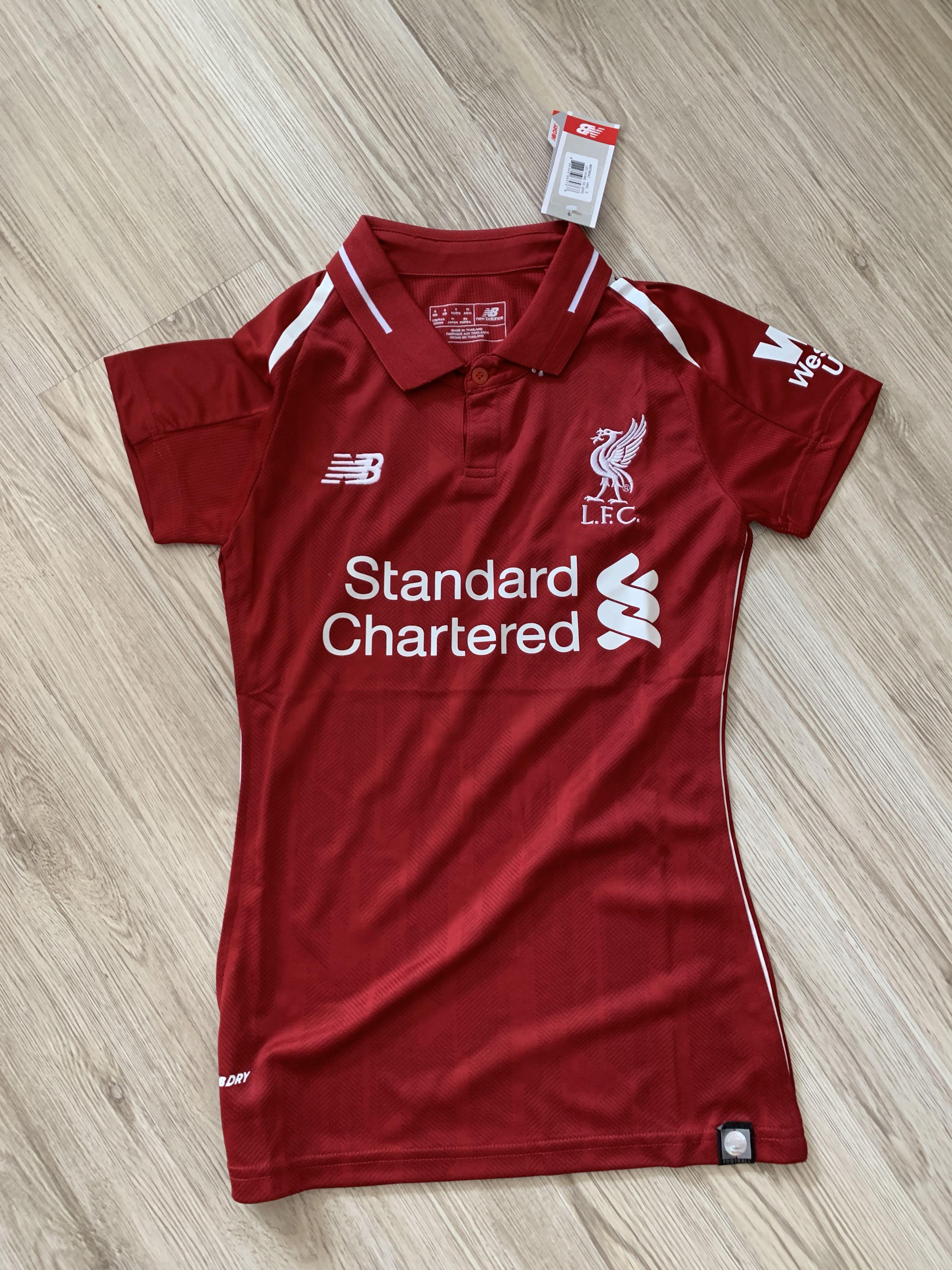new product 39563 92b37 Women's Liverpool jersey women Liverpool home kit jersey 18 ...
