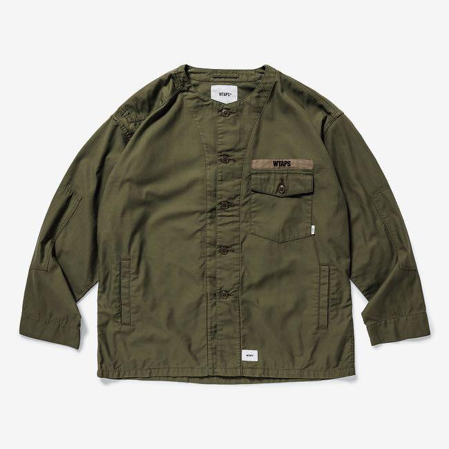 Wtaps 19SS Scout L/S shirt cotton satin size M