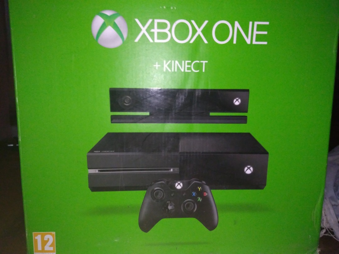 5a3662f14b5 Xbox One with Kinect, Video Gaming, Video Game Consoles on Carousell