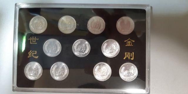中國硬幣(小金剛)壹分2005 至2016 共十一個 (中國人民銀行)