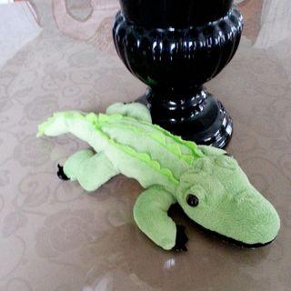Green Crocodile Plush Toy #ChangeTheCycle