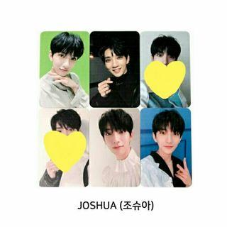 [WTB] SEVENTEEN JOSHUA YOU MADE MY DAWN PHOTOCARD