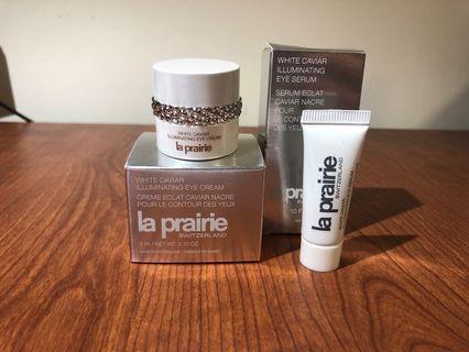 La Prairie White Caviar Eye Cream and Serum