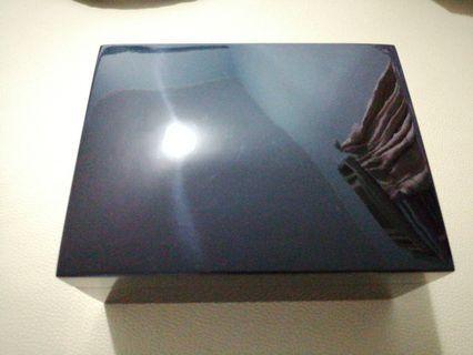 謝瑞麟黑色鋼琴木手飾盒