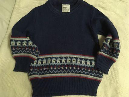 Knitwear Crocheted Blue