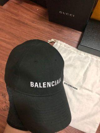 Balenciaga黑色棒球帽-明星熱賣款