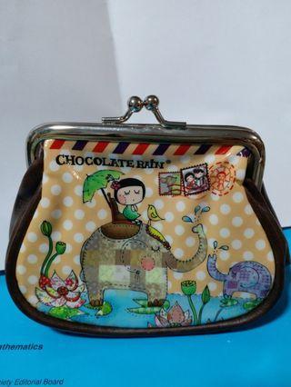 Chocolate Rain Coins Bag 散紙包