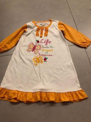 Girl pyjamas dress