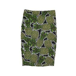 🚚 Pineapple Wrap Skirt