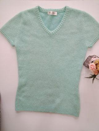 SoNice 短袖毛衣