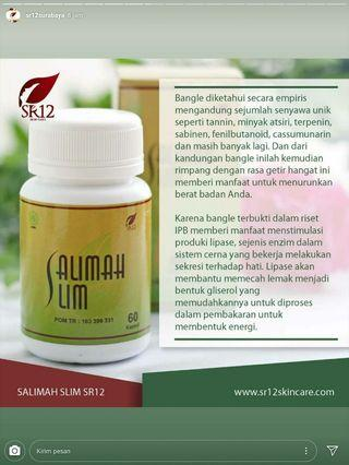 Salimah mengurangi lemak kotor