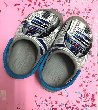 Crocs shoes starwars with light