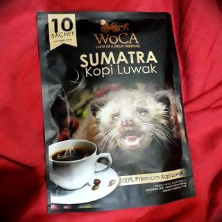 WoCA Kopi Luwak Sumatra 100% Premium