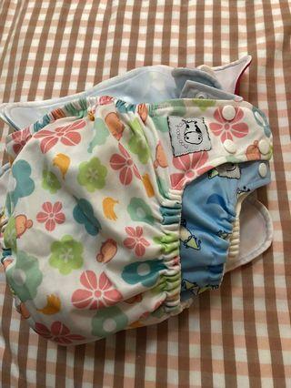 Cloth Diapers - Moo moo kow